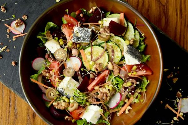Dunmore Goats Cheese Salad