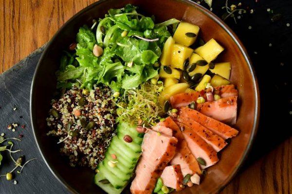 Connemara Honey Roast Smoked Salmon Salad