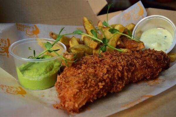 Fresh Fish & Homemade Chips Box