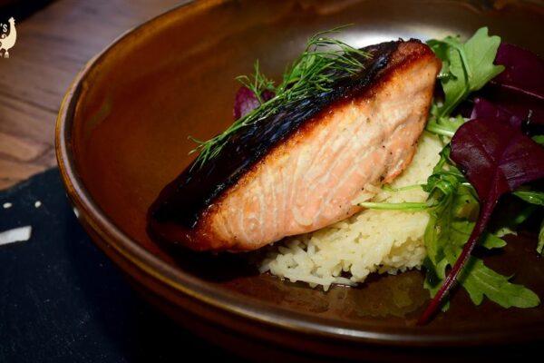 Irish Salmon & Saffron