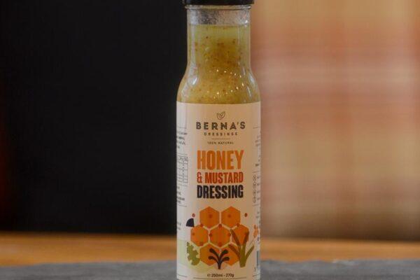 Berna's Honey & Mustard Dressing 250ml