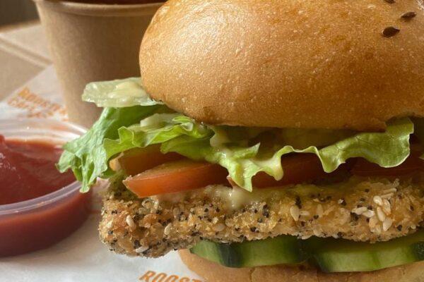 Chicken Fillet Burger & Chips