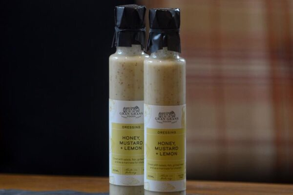 Gran Grans Foods Honey, Mustard & Lemon Dressing 250ml